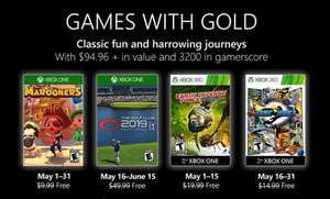 Games With Gold - Maj 2019 [Xbox One & Xbox 360]
