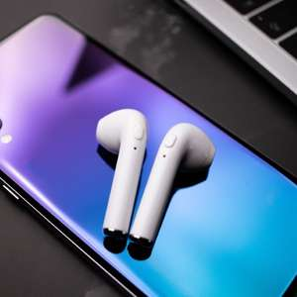 Bezprzewodowe słuchawki do telefonów iPhone i z systemem Android