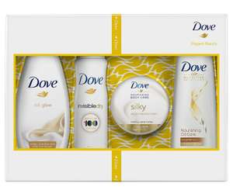 3 x zestaw pielęgnacyjny Dove za 40zł (2+1 gratis) @ Super-Pharm