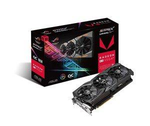 ASUS Radeon RX VEGA 64 ROG STRIX OC - 8GB HBM2 - Karta graficzna