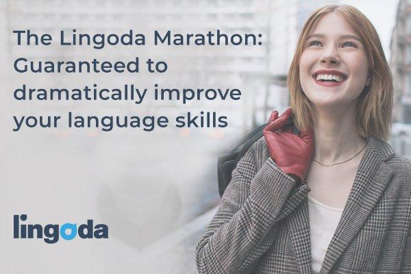 Lingoda Marathon - zwrot 100% kosztow za 90-dniowy kurs jezykowy przez Skype