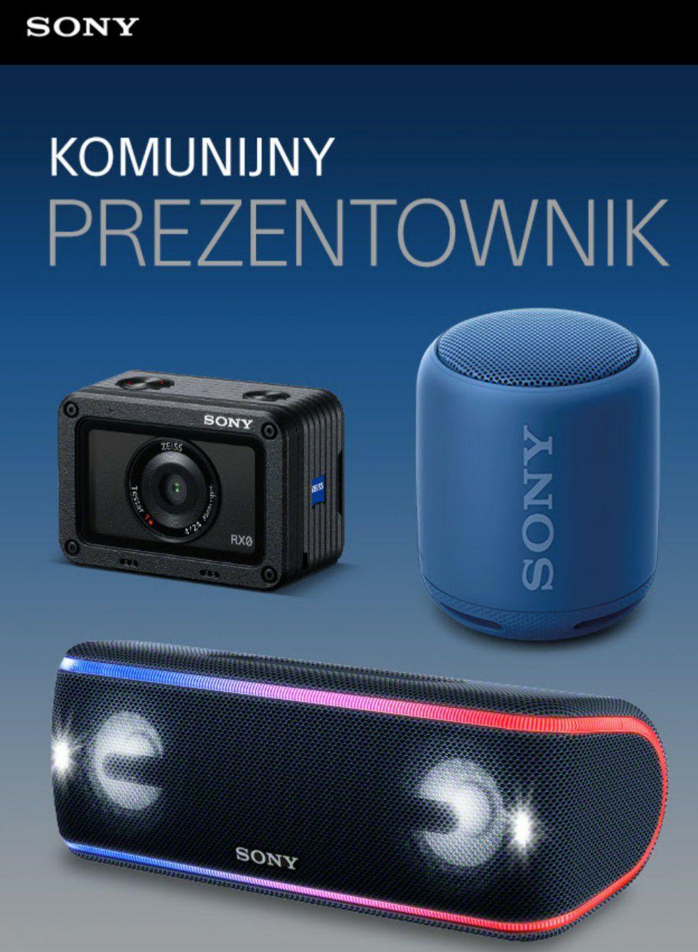 Promocje w Sony Centre na komunie: głośniki, słuchawki, kamerka sportowa