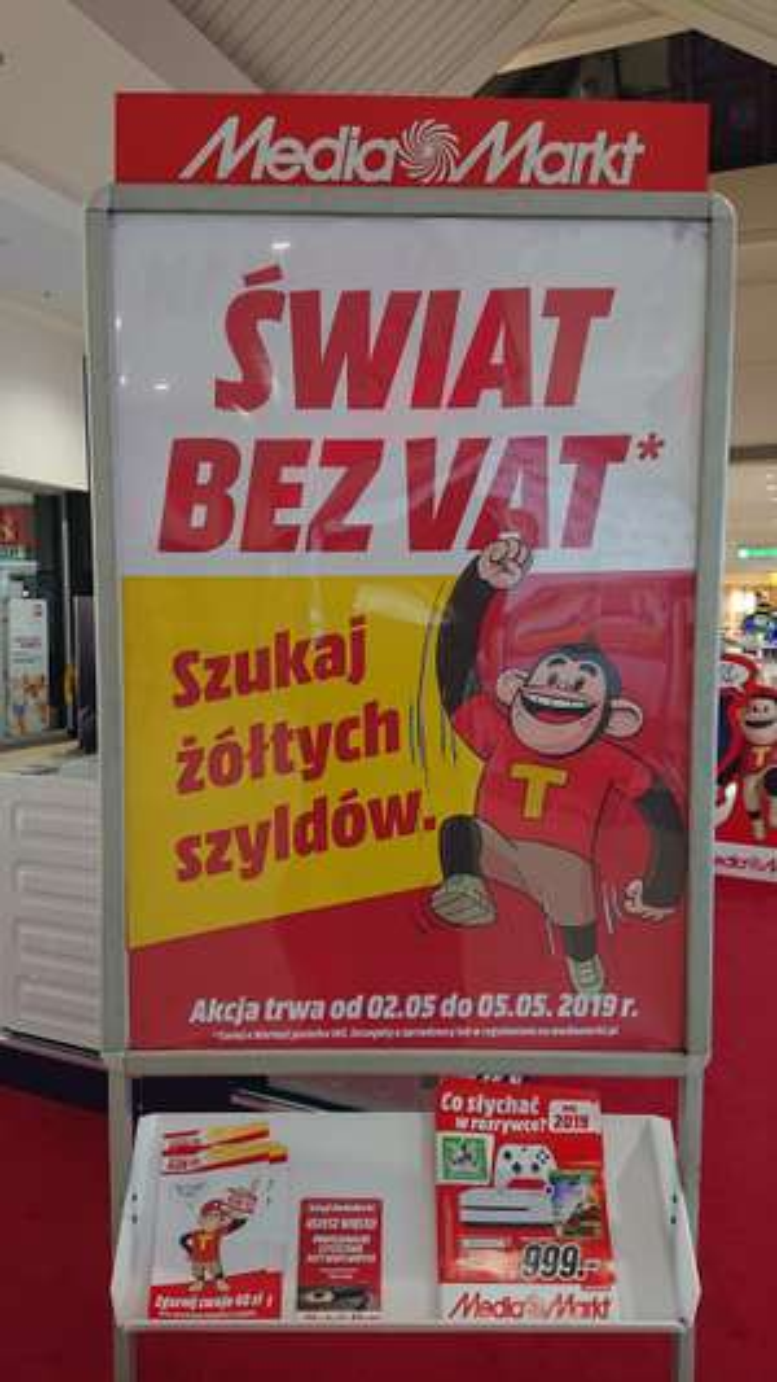 Świat bez VAT w MediaMarkt