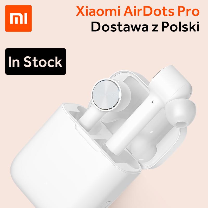 Xiaomi Airdots PRO słuchawki bezprzewodowe z redukcją szumu (z polskiego magazynu)