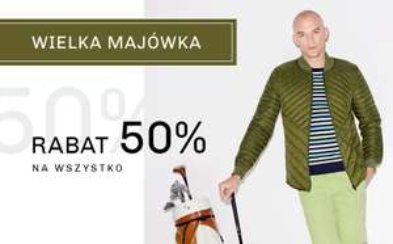 - 50% na wszystko w sklepie online vistula.pl