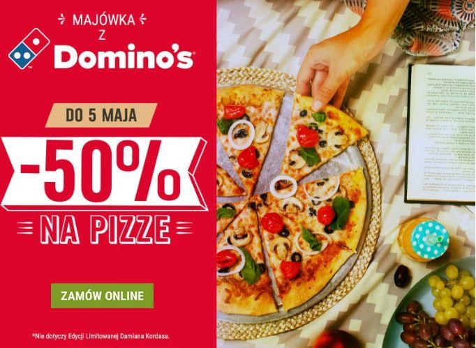 Majówka z Domino's pizza -50% na pizze