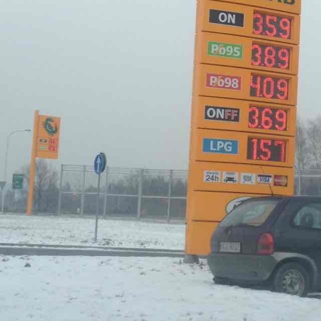 paliwo ON 3,59 Skoczow.