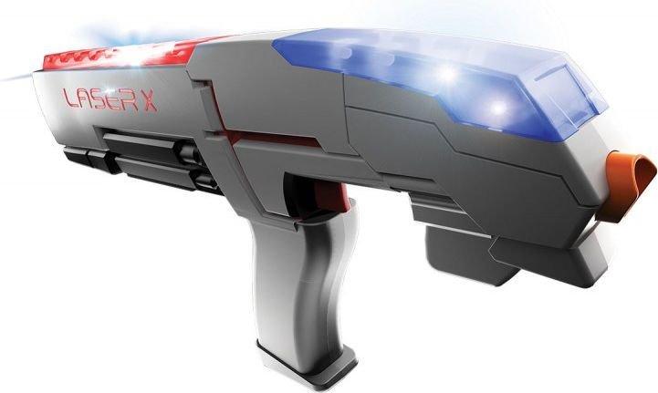 TM Toys LASER-X Pistolet na podczerwień (88011), pojedynczy