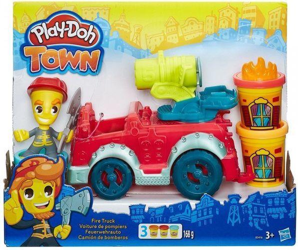 Play-Doh Wóz strażacki zestaw, kreatywna zabawka dla dziecka przedszkolnego, odbiór w Netpunkt za 0 zł