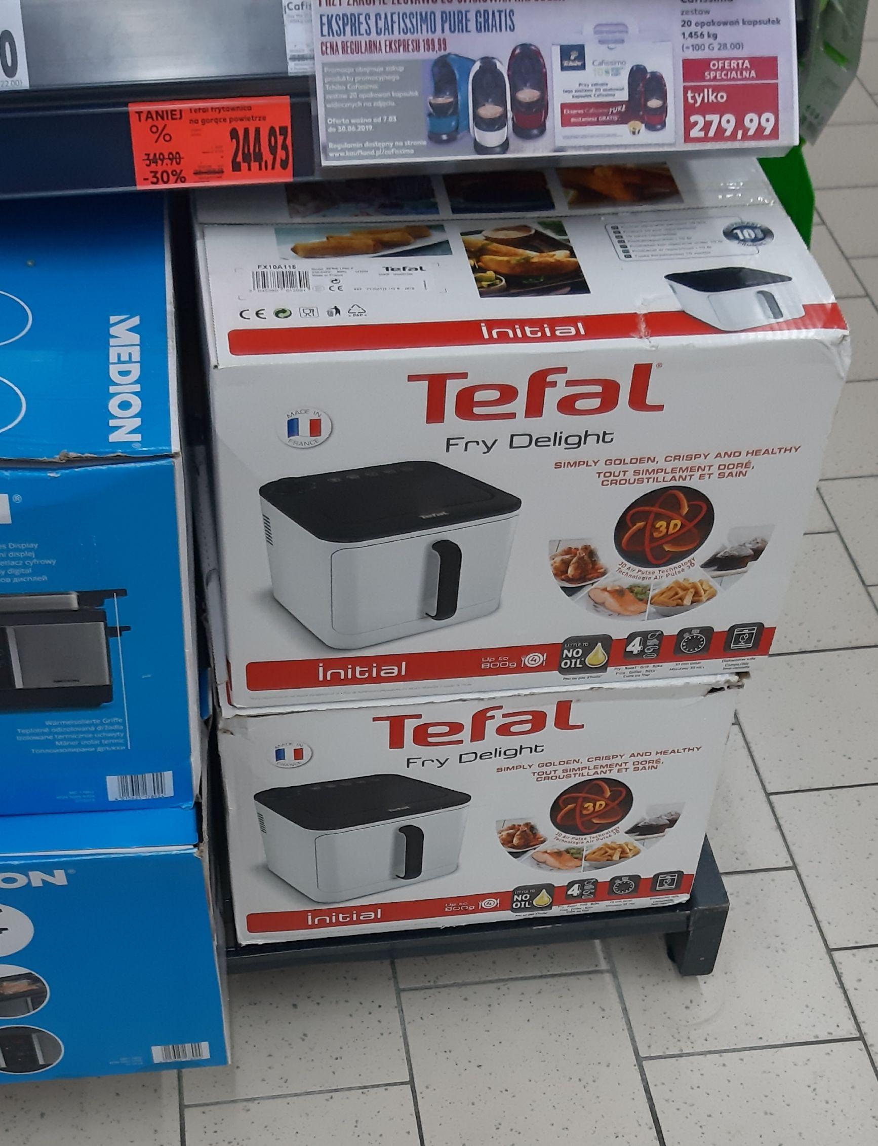 Kaufland Leszno - Tefal fry delight frytownica na gorące powietrze