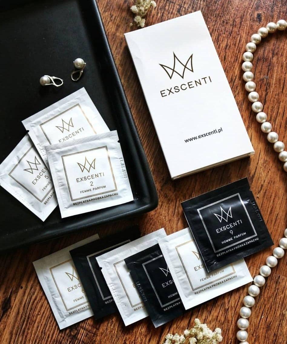 DARMOWE PRÓBKI perfum EXSCENTI