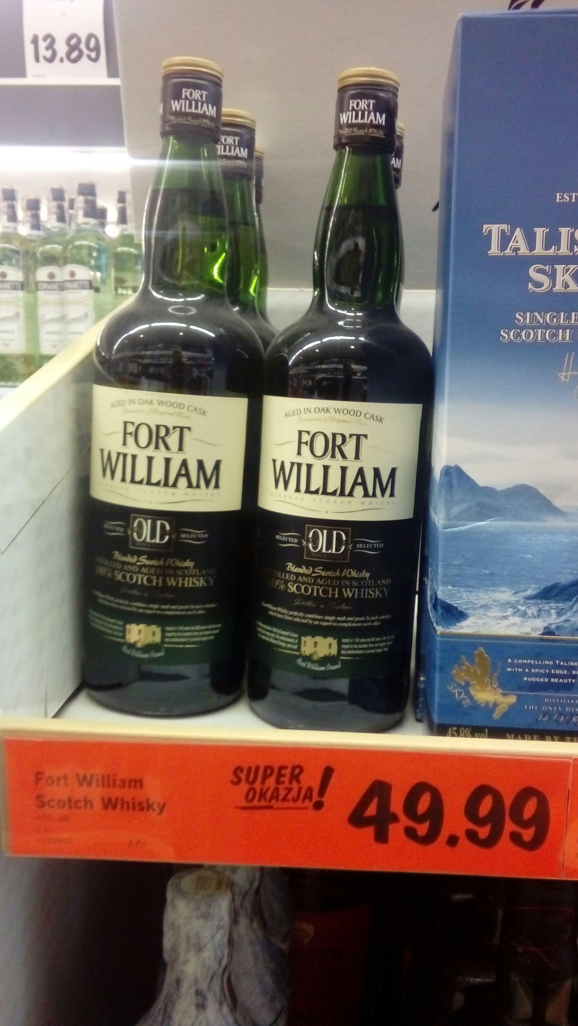 Fort William whisky 1L Lidl