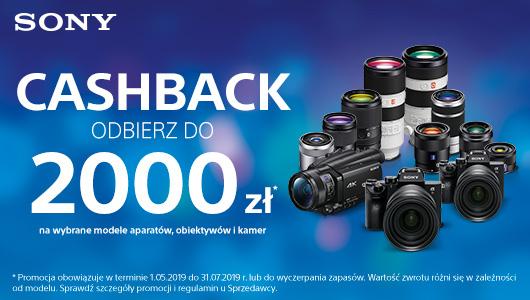 Cashback na aparaty Sony w Media Markt