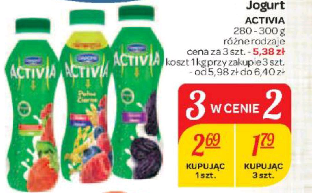 Activia do picia 3 w cenie 2. Carrefour