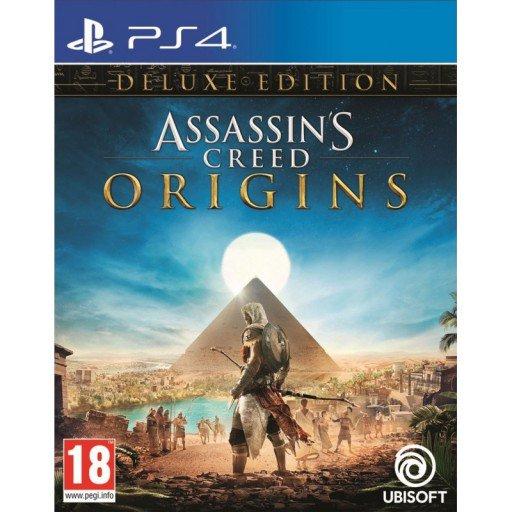Assassin's Creed: Origins – Deluxe Edition na PS4 za ok. 104 zł z wysyłką do Polski w The Game Collection
