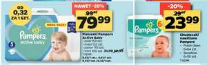 Pampers active w netto od 6 Maja