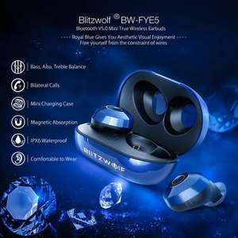 Słuchawki douszne Blitzwolf FYE5