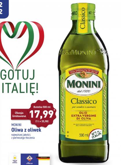 Oliwa Monini classico 500ml w Aldi (Tychy)