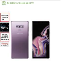 Samsung Galaxy Note 9 lawendowy