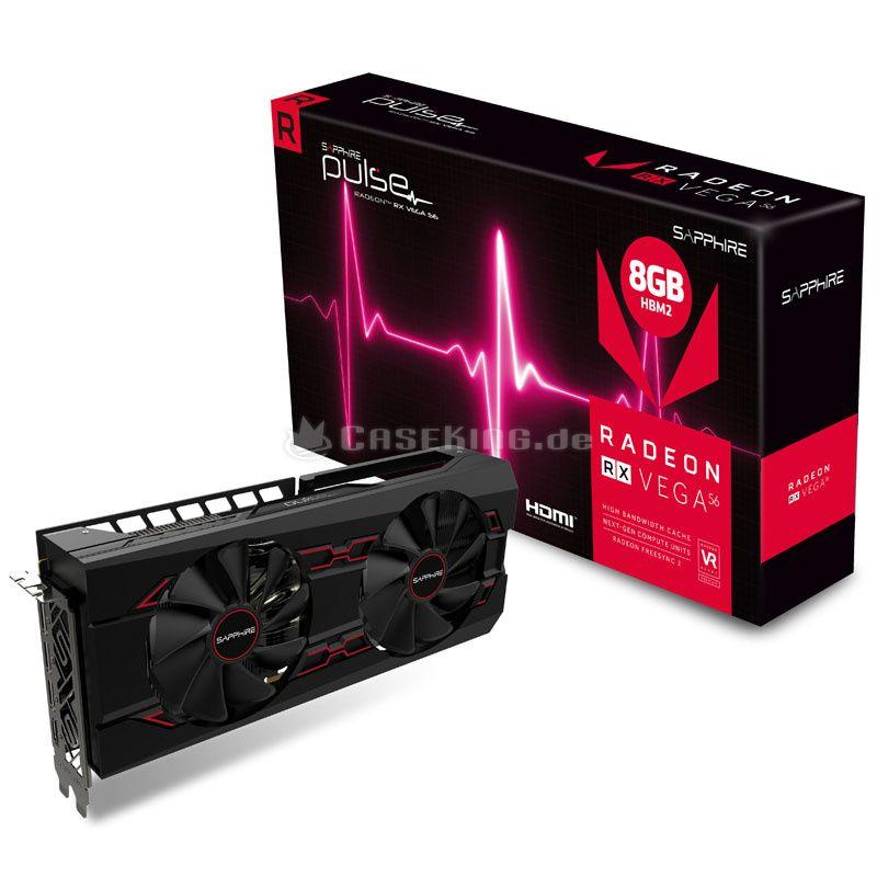 Karta graficzna AMD Sapphire Vega 56 pulse 8gb hbm2 + 2 gry