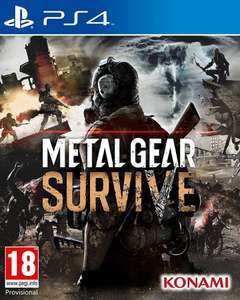 Metal Gear Survive + DLC PS4