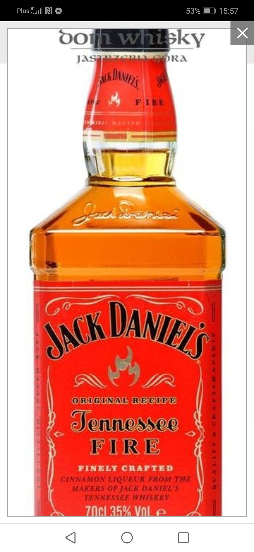 Jack Daniels Tennessee Fire 0.7 Stokrotka