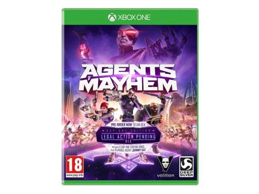 Agents of Mayhem  nowa w folii + DLC XBOX ONE PL/ PS4