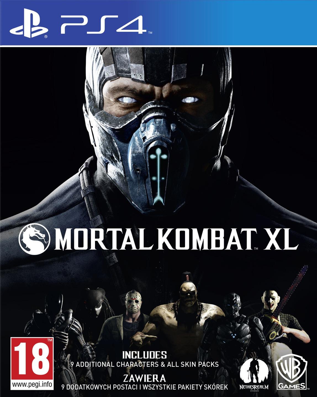 MORTAL KOMBAT XL PL NOWA + DLC 9 POSTACI PS4