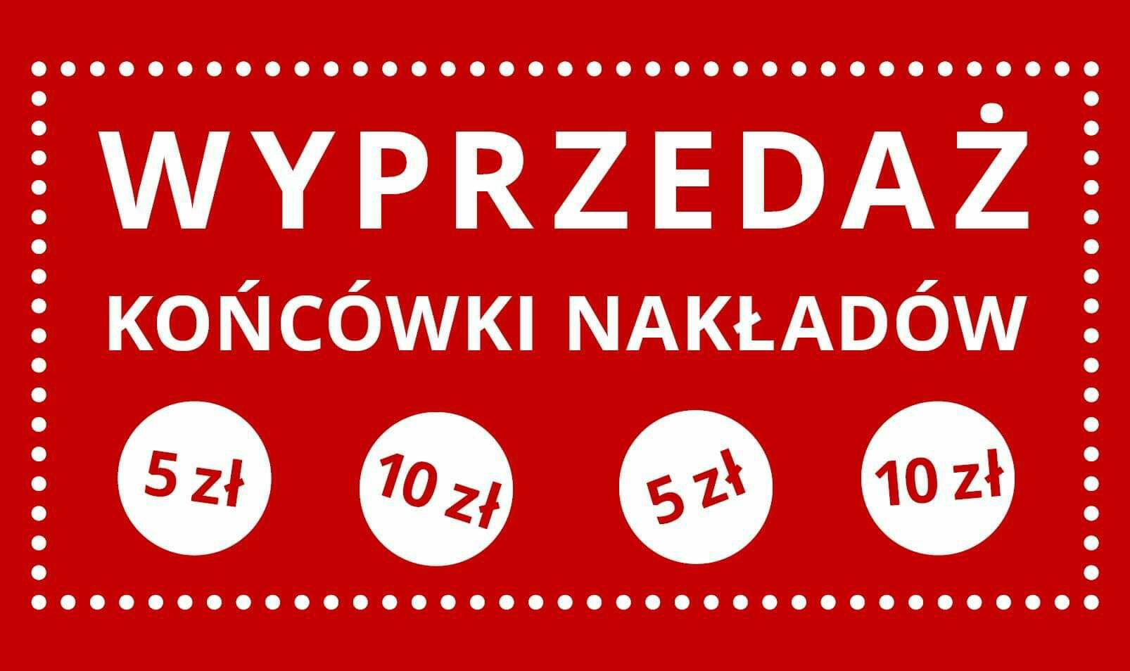 Wyprzedaży  końcówki  nakładów  w wydawnictwie  Mamania po 5 i 10 zł