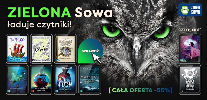 Wydawnictwo Zielona Sowa 55% taniej (ebooki) @ ebookpoint.pl