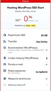 Hosting Wordpress SSD na home.pl
