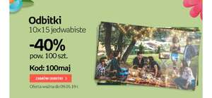 10 ×15 odbitki Empik Foto -40%