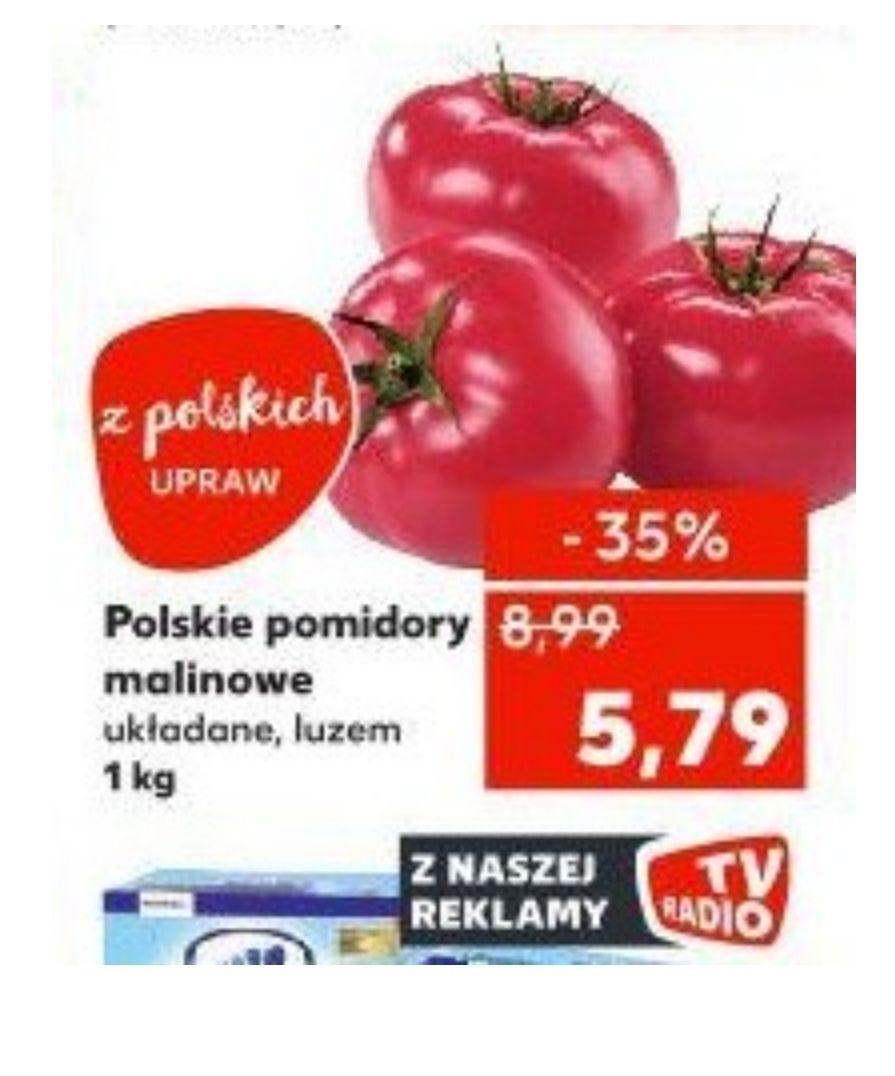 Polskie pomidory malinowe. Od 9.05 Kaufland