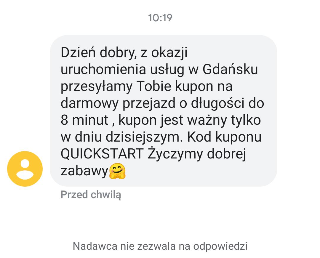 Hulajnogi elektryczne Quick w Gdańsku