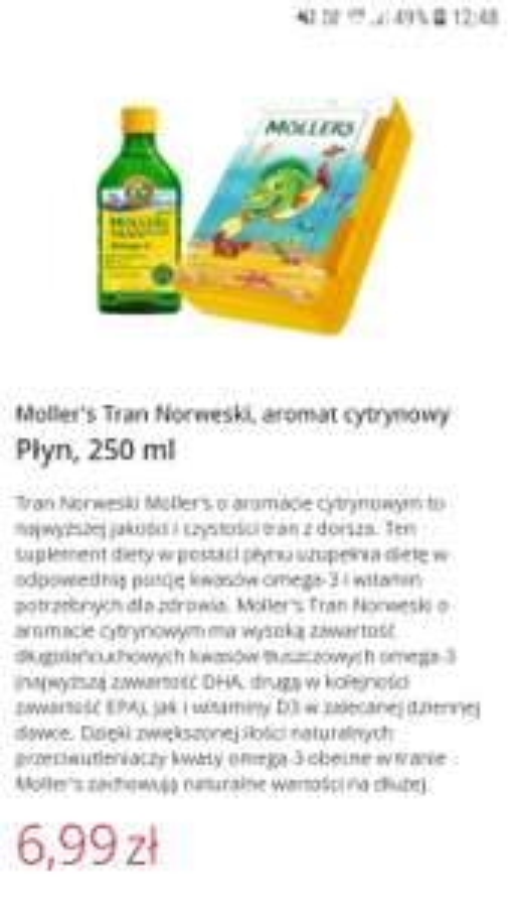 Tran Norweski Moller's krótka data