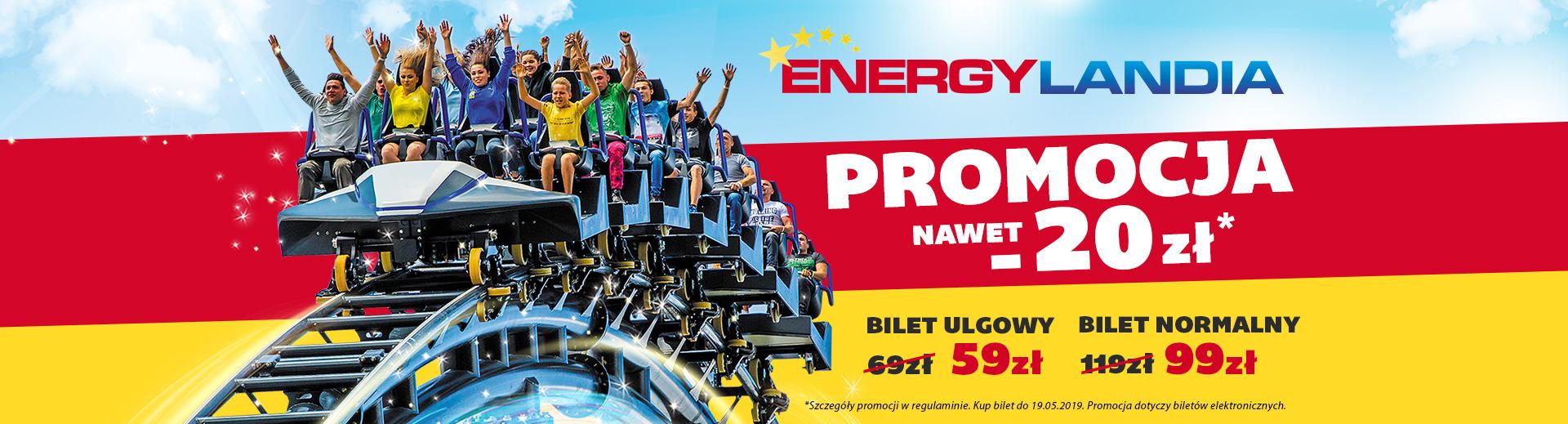 Energylandia promocja do -20zł