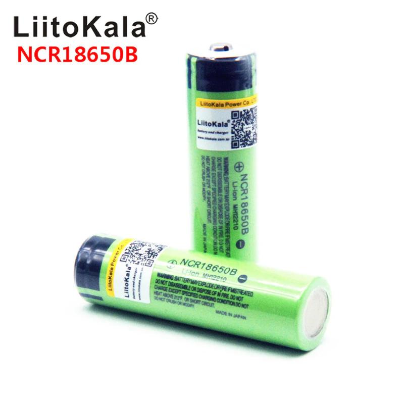 Ogniwa 18650 LittoKala 2.54$ mozliwe 2,2$ przy 6 sztukach