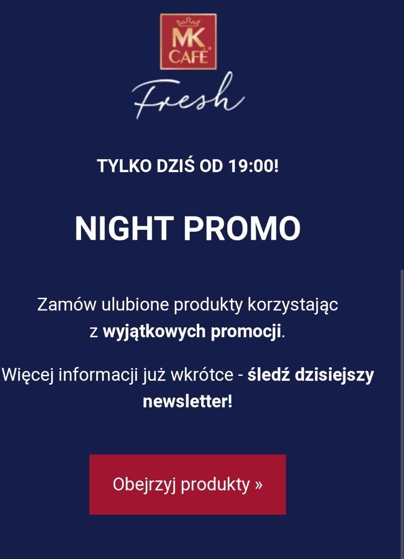 Promocja do 20% MK Cafe Fresh