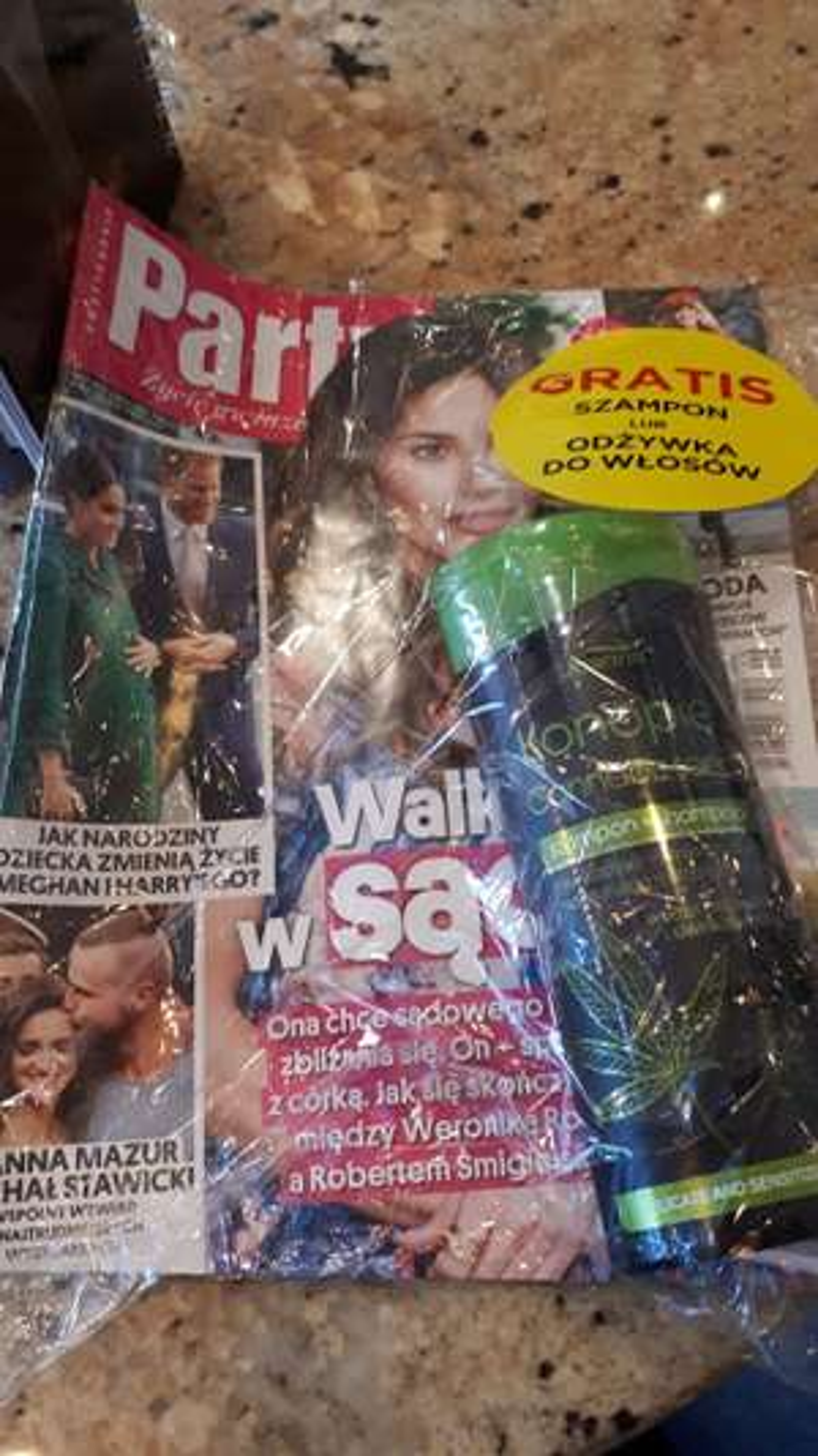 Gazeta party z szamponem joanna za 3.21
