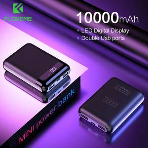 FLOVEME Mini Power Bank 10000mAh