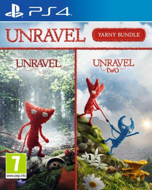 UNRAVEL 1 + 2 YARNY BUNDLE PS4 I druga promocja za 59 zł PS4 I trzecia promocja za 64,90 PS4 I czwarta okazja na PS4 za 64,90 zł