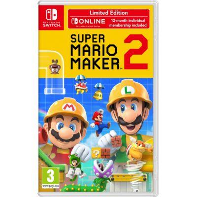 Limitowana edycja Super Mario Maker 2 ze Steelbookiem, stylusem oraz rocznym abonamentem Nintendo Switch Online