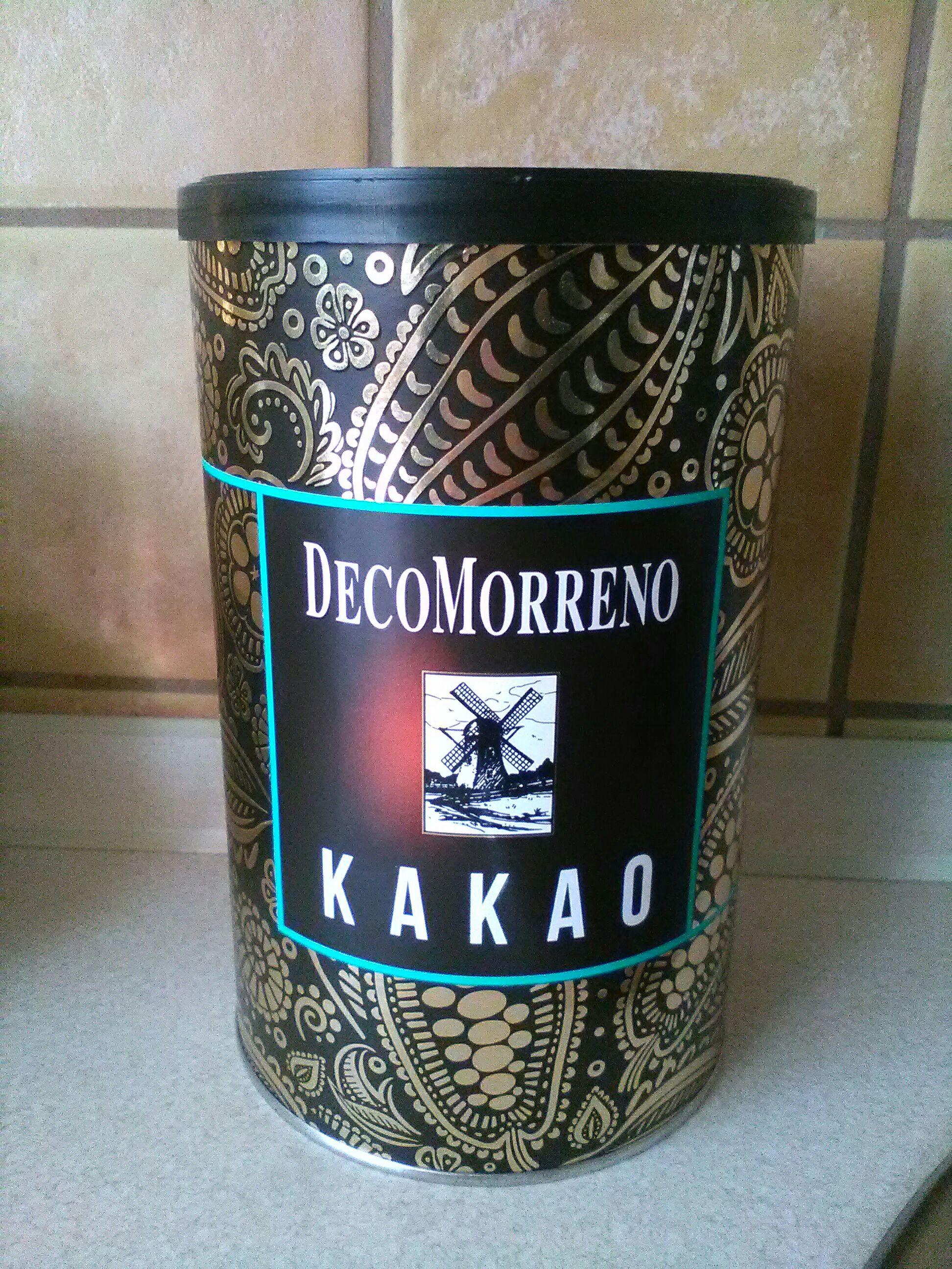 Kakao autorstwa DecoMorreno 150 g w puszce w Tesco supermarket Szczecin