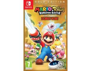 Mario + Rabbids: Kingdom Battle Gold Edition Nintendo Switch