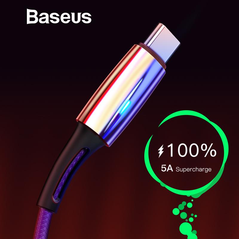Kabel Baseus 5A USB-C 1M