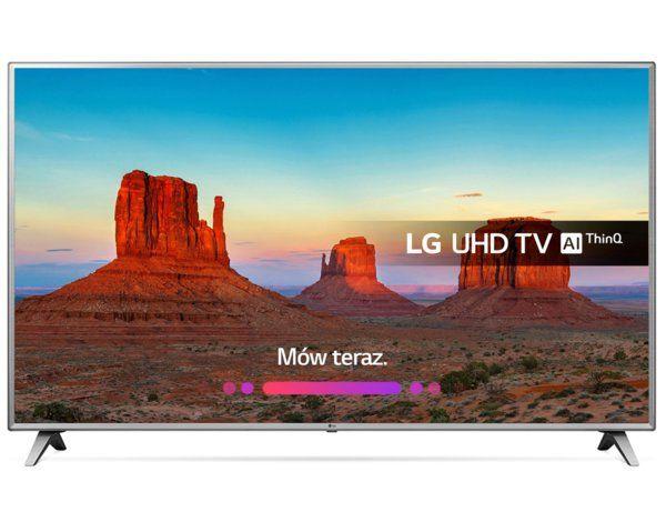 LG 75UK6500PLA telewizor 75 cali Direct LED UWAGA sklep ma dziesiątki obniżek OLEDy Hifi itp