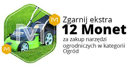 12 monet za zakup narzędzi ogrodniczych (MWZ 200 zł)