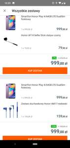 Smartfon Honor Play 4/64GB LTE DualSim w aetka24