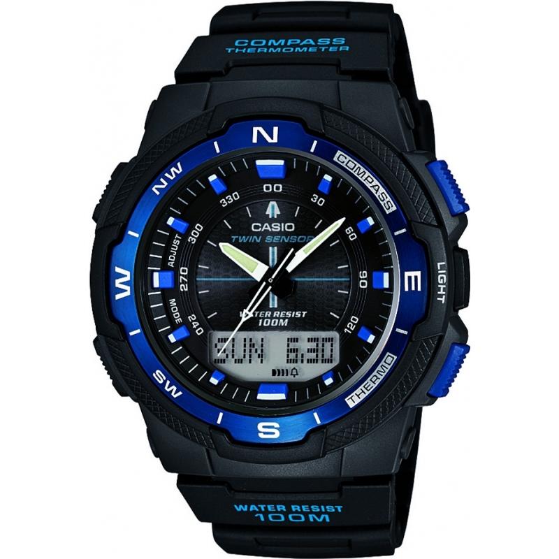 Zegarek męski Casio SGW-500H-2BVER (kompas, termometr) @ Watches2U