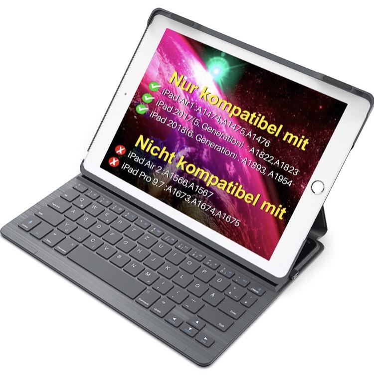klawiatura + pokrowiec do iPada 9,7